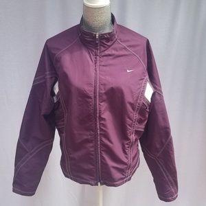 Nike DRI-FIT Lightweight Purple Jacket